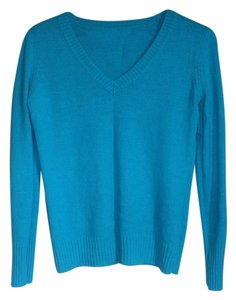 Old Navy Blue Light Blue V Neck Sweater