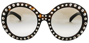 Prada BRAND NEW PRADA ABSOLUTE ORNATE ROUND OVERSIZED STUDDED SUNGLASSES