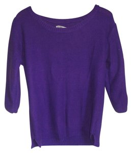 Old Navy Scoop Neck Wide Sleeves Side Slits Sweater
