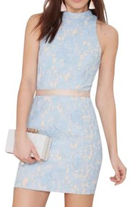 Nasty Gal Lace Fitted Cut-out Pencil Dress