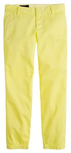 J.Crew Khaki/Chino Pants lemon pulp