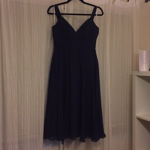 B2 Navy Blue Navy Blue Dress