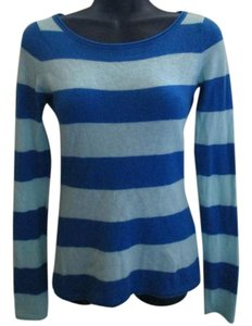 Express Striped Fall Autumn Scoop Neck Sweater