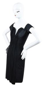 Oleg Cassini Draped Dress