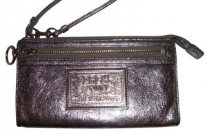Coach METALLIC Clutch