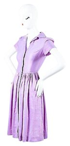 Narciso Rodriguez short dress Purple Lavender on Tradesy