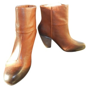 Vince Camuto Leather Ankle New Caramel Boots