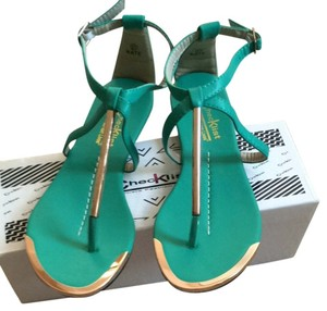 Chicklist Teal Sandals