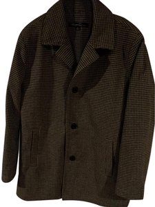 Kenneth Cole Wool Polyester Warm Laine Coat