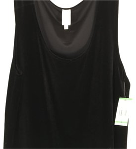 Jones New York Nwt Dressy High Quality Top Black