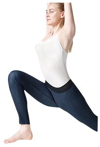 Uniqlo Denim Yoga Comfortable Blue Leggings