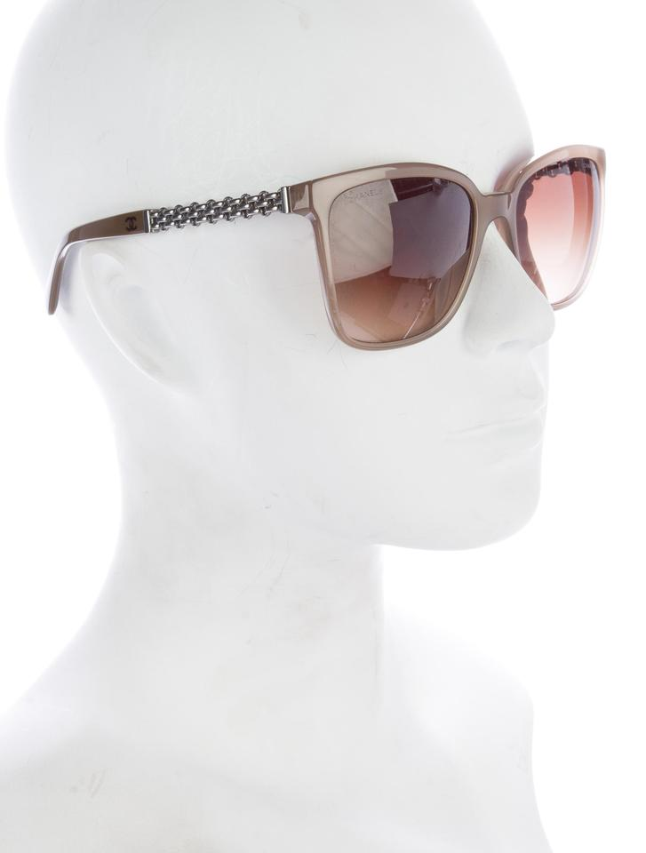9f3a63a8f9ac Chanel 5325 Square Chain Link Quilted CC Logo Polarized Wayfarer Classic  Image 11. 123456789101112