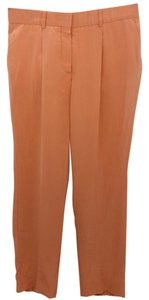 Chloé Chloe Orange Silk Pants