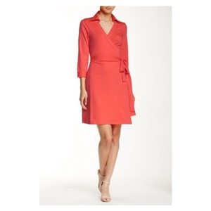 Julie Brown short dress Neon Coral on Tradesy