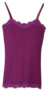 Aerie Lace Top Purple