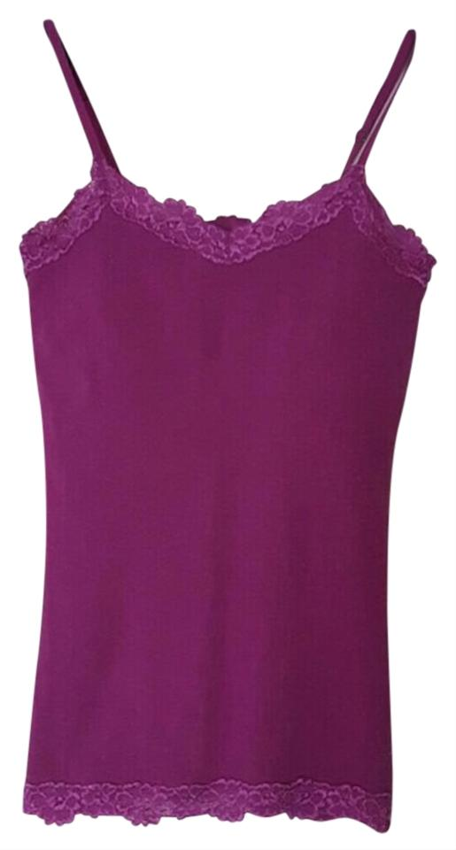 45536a3759c0d Aerie Purple Lace Tank Top Cami Size 8 (M) - Tradesy