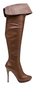 Charles Jourdan Taupe leather Boots