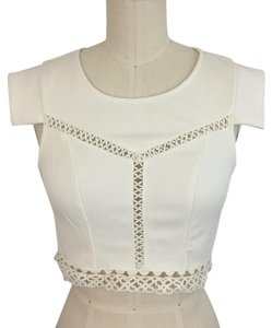 SABO SKIRT Top White