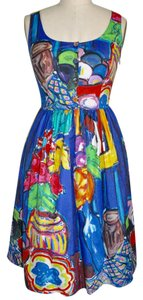 Prada short dress Multi-Color Summer on Tradesy