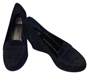 DV by Dolce Vita Black Suede Wedges