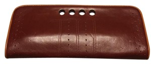 Banana Republic Burgundy Clutch