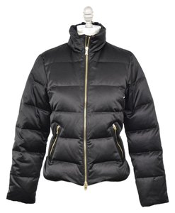 Ralph Lauren Shiny Quilted Puffer Coat