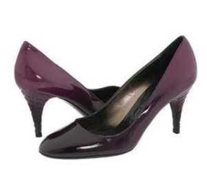 Burberry Purple Pumps