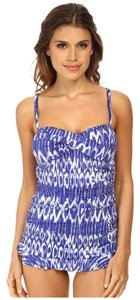 Tommy Bahama Tommy Bahama Tie-Dye Bandeau One-Piece Swimsuit