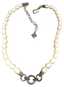 Barbara Bixby Barbara Bixby Pearl and Sterling Silver Necklace for Enhancer