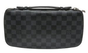 Louis Vuitton Louis Vuitton Damier Graphite Atoll Holder Men's Wallet
