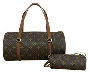 Louis Vuitton Lv Papillon 30 Mini Pouch Satchel in Monogram