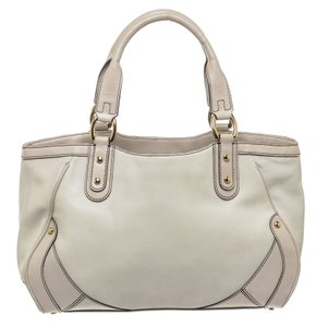 Cole Haan Satchel in Cream/Pale Pink