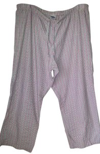 Old Navy Pajama Xl Baggy Pants Pink, White & Black
