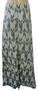 Gentle Fawn Urban Outfitters Knit Maxi Arrowhead Print Skirt Tan/black