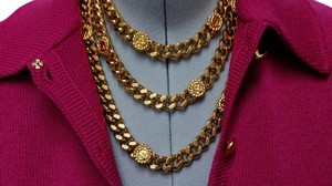 St. John ST.JOHN GOLD TRIPLE CHAIN NECKLACE.