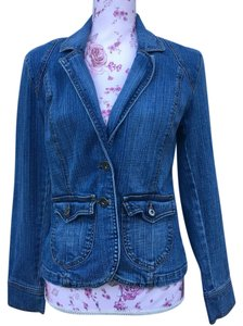 Gloria Vanderbilt Womens Jean Jacket