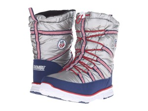 Khombu Silver/Red/Blue Boots