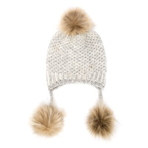 Inverni hats Trible Pompom Beanie