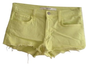 JOE'S Cut Off Shorts Lemon
