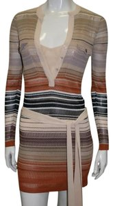 Haute Hippie short dress Multicolor on Tradesy