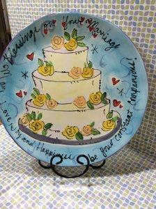 Marriage Blessings Plate