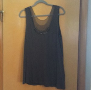 Simply Vera Vera Wang Top Grey
