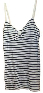 American Eagle Outfitters Top Navy and white