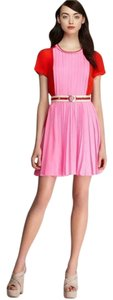 Juicy Couture Color-blocking Belted Juicy Dress