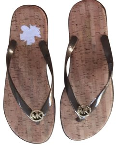 MICHAEL Michael Kors Bronze brown Sandals