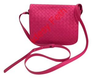 Bottega Veneta Messenger With Flap Made In Italy Cross Body Bag