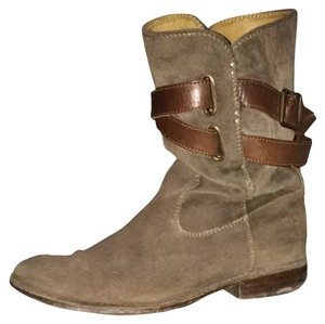 Frye Distressed Grey Boots