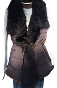 Maximilian Quilted Shearling Vest