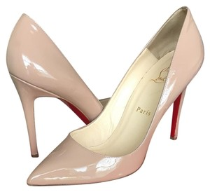Christian Louboutin Red Sole Nude Pumps