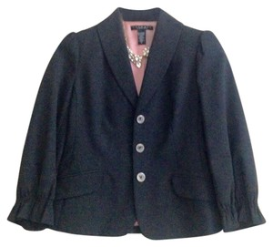 Laundry by Shelli Segal Gray Blazer